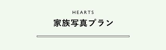 HEARTS 家族写真プラン