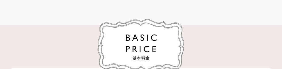 BASIC PRICE 基本料金